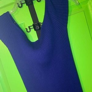 Forever 21 Royal Blue tight fit dress size L
